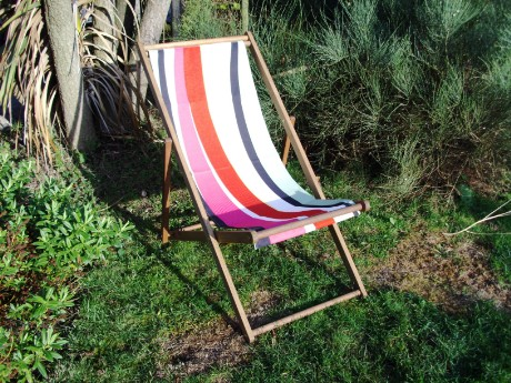 beach party deck chair hire